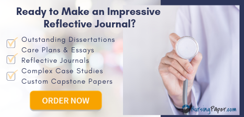 writing nursing reflective journal with pros