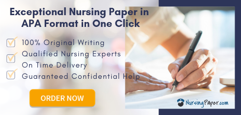 writing nursing paper in apa format